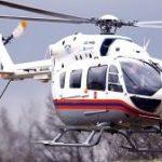Вертолет МАЦ эвакуировал в больницу пострадавшего при съезде автобуса в кювет на Киевском шоссе в ТиНАО