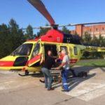 С начала недели вертолет санавиации семь раз вылетал в Ленобласть