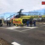 Вертолеты санавиации забрали из Ленобласти пациента с циррозом печени